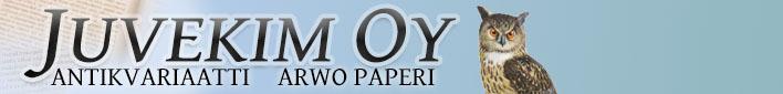 Juvekim Oy - antikvariaatti Arwo Paperi fcfb776004