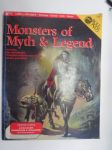 Monsters of Myth & Legend - Includes: Six mythologies, Complete statistics and origins, Charts and tables -roolipelaamisen erikoisjulkaisu