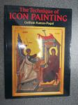 The Technique of Icon Painting -ikonimaaluksen oppikirja