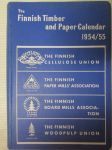 The Finnish Timber and Paper Calendar 1954/55
