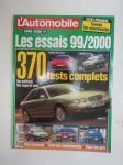 L´Automobile - Less essais 99/2000 370 tests complets -vuoden testiraportit, ranskankielinen -test reports issue, in french