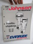 OMC Johnson - Evinrude outboards mallit - 120-140, 185-225, 250, 300 - Huolto-ohjekirja -service manual in finnish