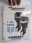 OMC Johnson - Evinrude outboards mallit - 125C, 130, 200, 225, 250, 300 90 LV - Huolto-ohjekirja -service manual in finnish