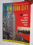 New York City - Deluxe picture book - New York souvenir book -matkaopas / matkamuistokirja
