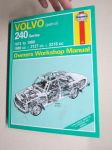 Volvo 240 Series (petrol) 1974 to 1988 1896cc, 2127 cc, 2316 cc - Haynes Owner´s Workshop Manual