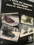 1992 Arctic Cat Snowmobile Service Manual Super Wildcat EFI - Wildcat EFI Mountain Cat