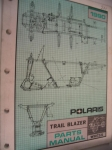 Polaris trail blazer Parts manual W907221