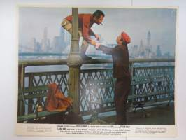 Luv - Columbia Pictures - Jack Lemmon, Peter Falk, Elaine May -elokuvan mainoskuva / kaappikuva / painokuva -movie advertising photo / printdisplay case photo