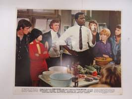 To sir, with love - Columbia Pictures - Sidney Poitier, Judy Geeson, Christian Roberts, Suzy Kendall -elokuvan mainoskuva / kaappikuva / painokuva -movie