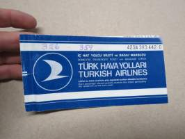 Turkish Airlines - Türk hava yollari - Passenger Ticket  4204 383 4420