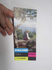 Finland - For happiness and vigour -travel brochure / matkailuesite